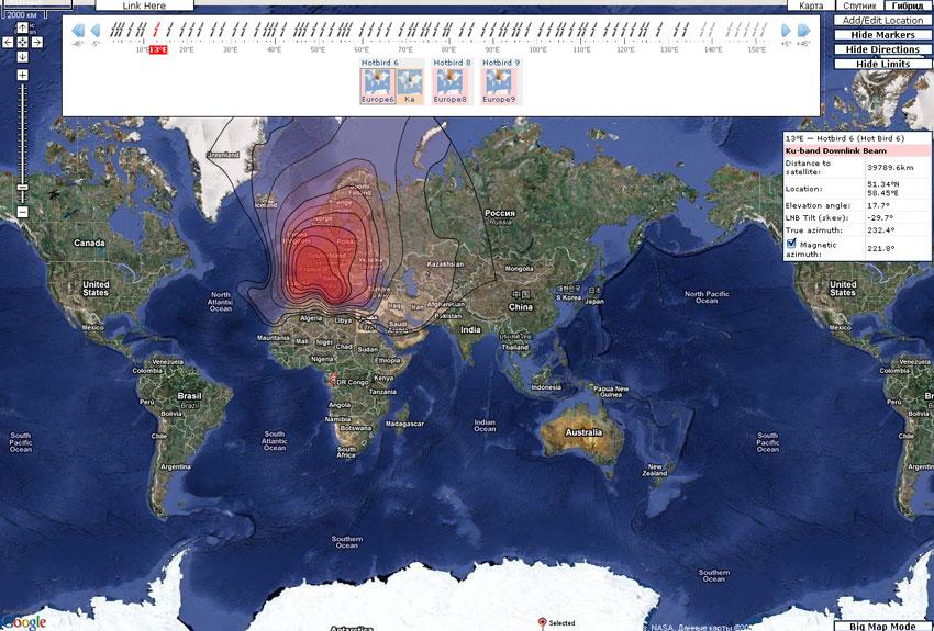 скачать карту спутник - фото 9